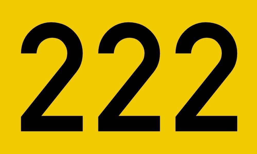 Numerologi 222